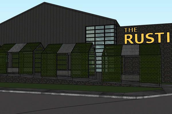 The Rustic's first Houston location, at 1836 Polk St. next to the George R. Brown Convention Center, is expected to open early next summer.